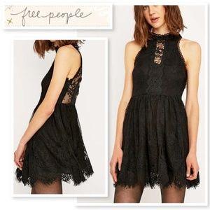 Free People Verushka Dress - Black - Size 2